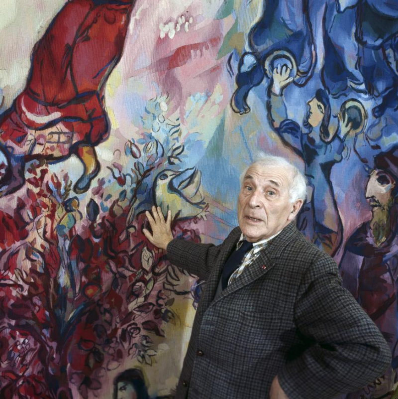 Штрихи к портрету. 7 историй из жизни Марка Шагала: шпионаж, румяна, музыка