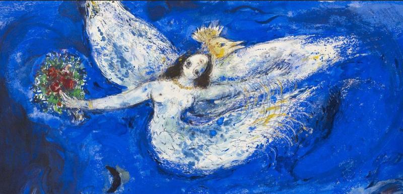 Говорит и показывает: цитаты Марка Шагала об ангелах, женщинах, коровах, цирке, любви и пульсе живописи