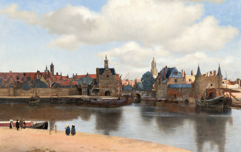 The secret life in Dutch Golden Age paintings: the real world behind the looking glass
