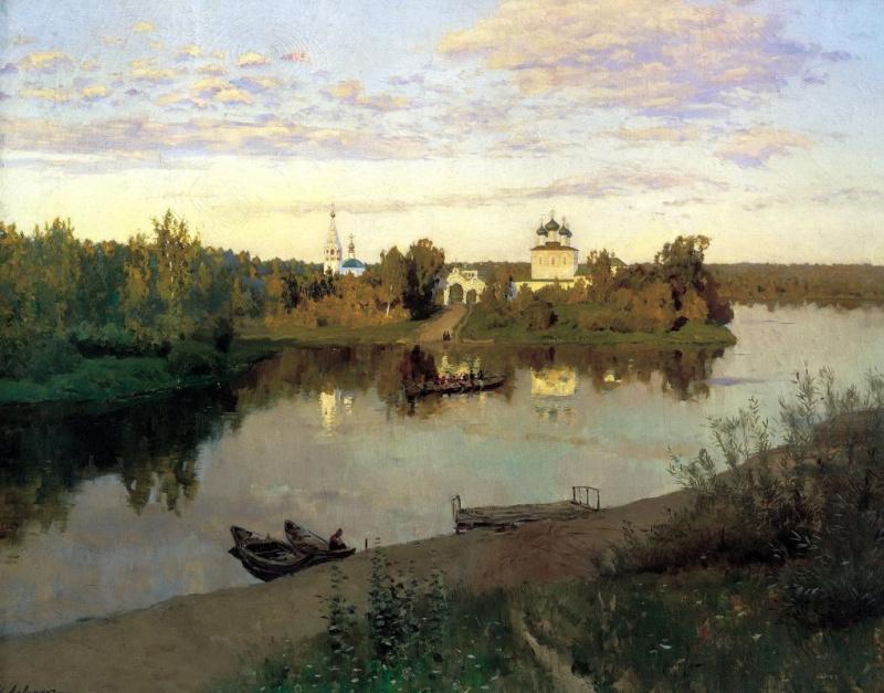 Волга, Волга. Великая русская река глазами Левитана