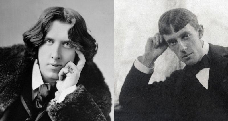 Oscar Wilde and Aubrey Beardsley: brilliant wits with prickly egoes