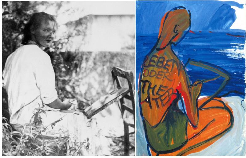 Жизнь в картинках: как искусство помогло Шарлотте Саломон не сойти с ума, но не спасло от газовой камеры