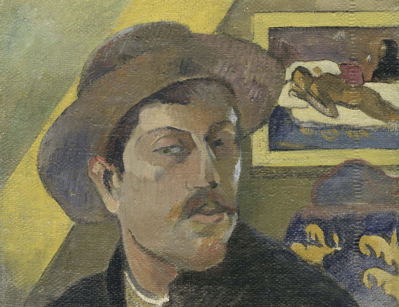 Love story in pictures: Paul Gauguin, Mette and Teha'amana