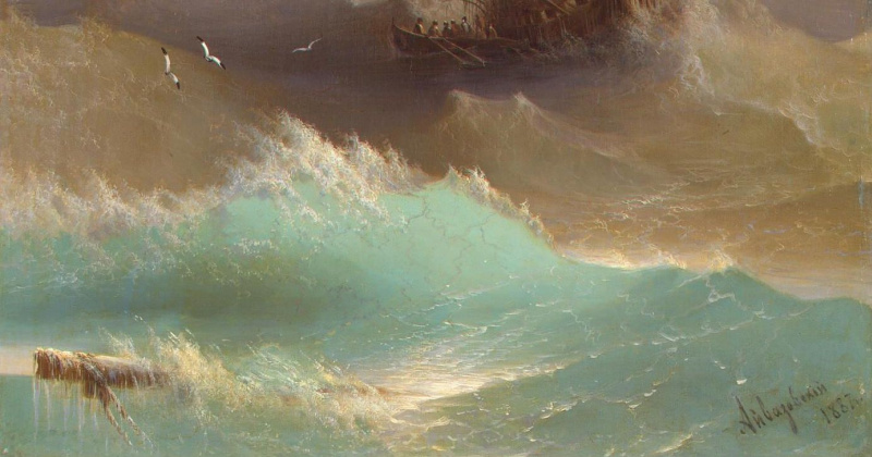 Amidst the waves. 20 fascinating facts about Ivan Aivazovsky, the artist most loved by the Russians