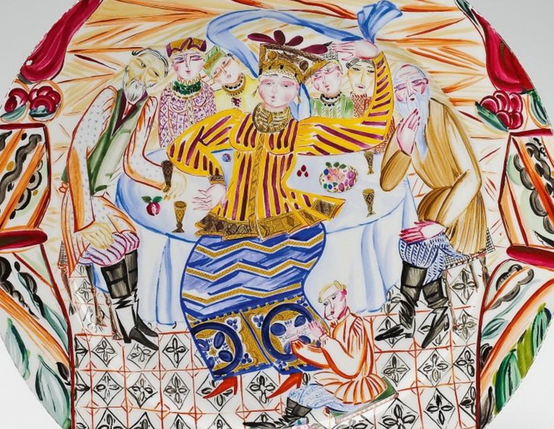 Художница Щекатихина-Потоцкая, супруга Билибина. Фарфор, учитель и любовь