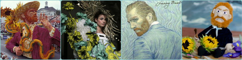 Многоликий Ван Гог в творчестве современных дизайнеров