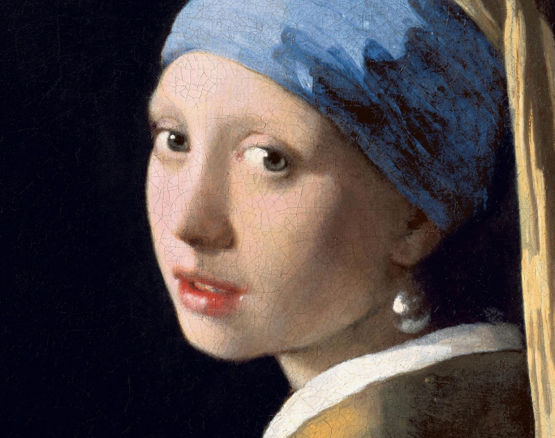 Let's figure it out: could it be that the earring in the famous 'Girl with a Pearl Earring' was not really a pearl?
