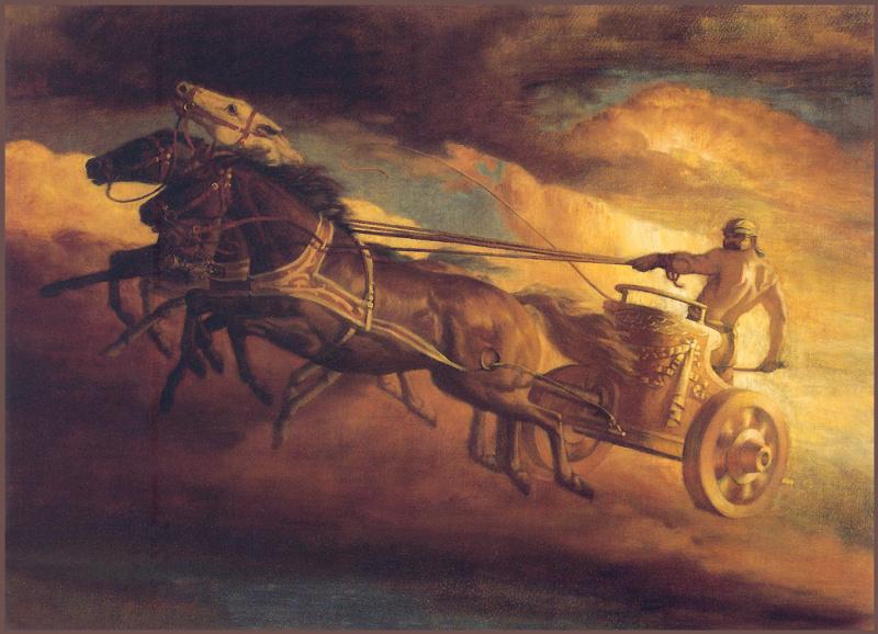 Зевс в колеснице картинки