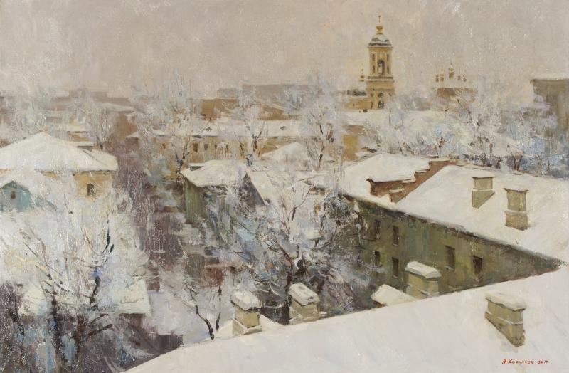 Александр Евгеньевич Косничев. Москва. Вид на Кадаши