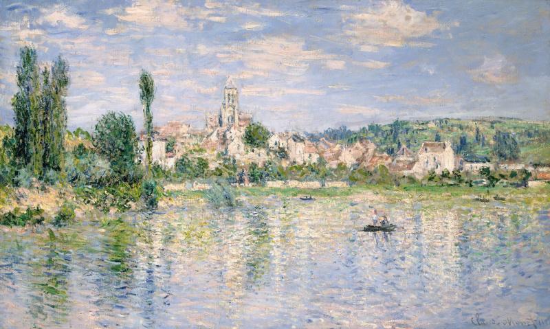 Claude Monet. Vétheuil in summer
