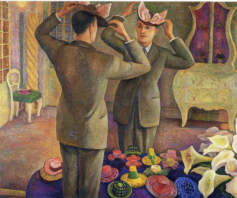 "the meaning behind a painting by diego rivera a mexican artist ""an artist is above all a human being, profoundly human to the core if the artist can't feel everything that humanity feels, if the artist isn't capable of loving until he forgets himself and sacrifices himself if necessary, if."