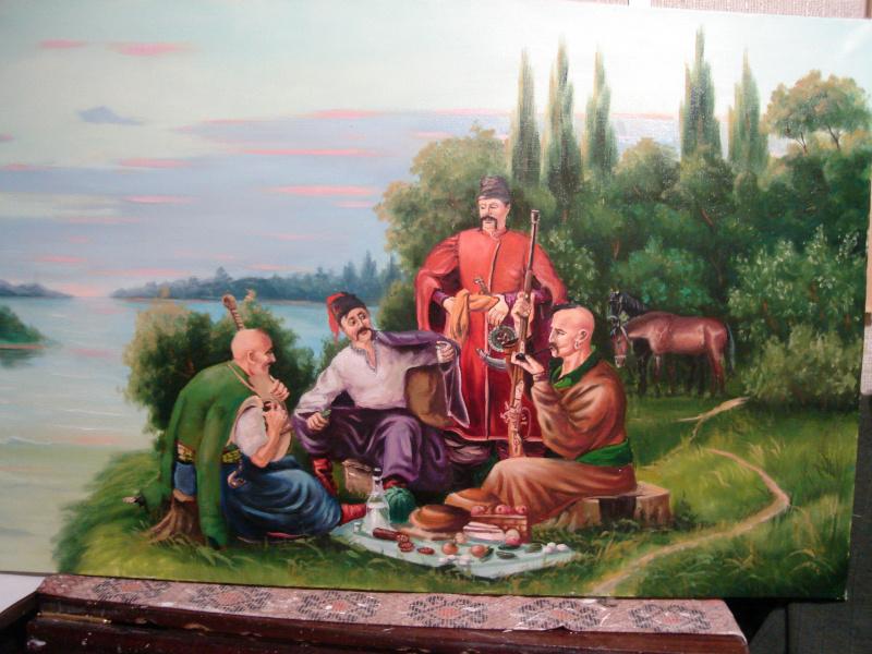 Александр Владимирович Алымов. Казацкий ужин