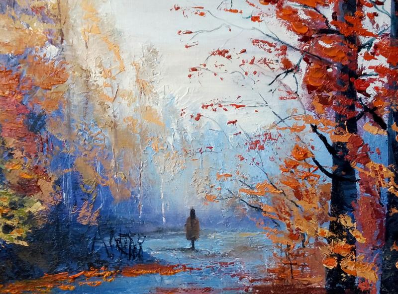 Ирина Поморова. Осень