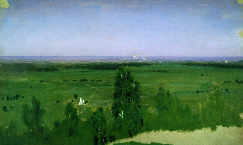 Arkhip Ivanovich Kuindzhi. View on Moscow from Sparrow hills