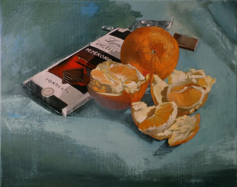 Александр Гизя-Чобану. Апельсины