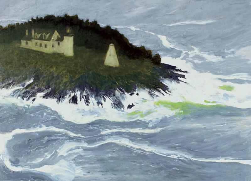 Jamie Wyeth. Rouge waves