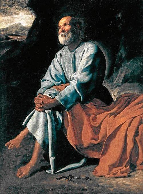 Диего Веласкес. Плач святого Петра