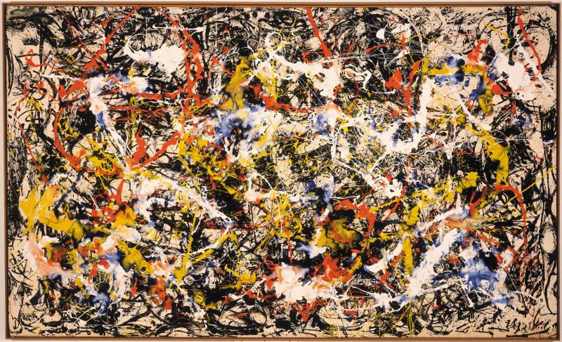 Jackson Pollock. Convergence