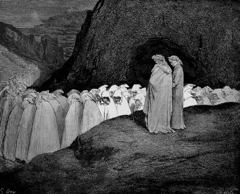 dante s inferno compared to allegory of the cave Allegory in the inferno greatly varies from plato's allegory of the cave in dante's inferno describes the descent through more about comparing dante and.