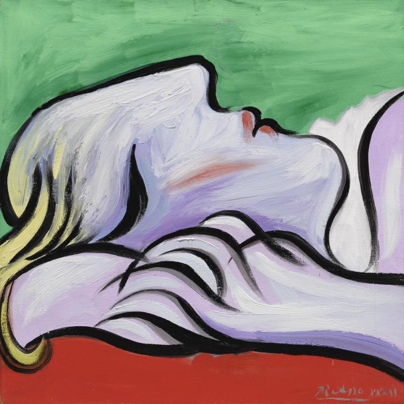 Pablo Picasso. Le Repos