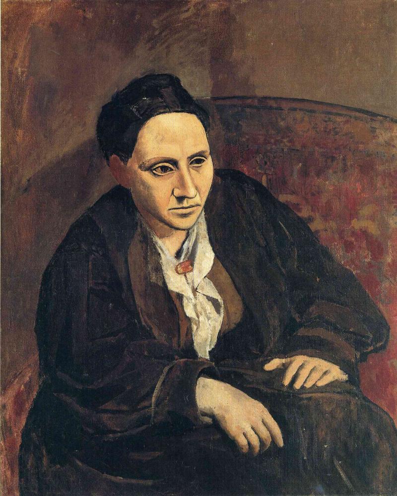 Pablo Picasso. Portrait Of Gertrude Stein