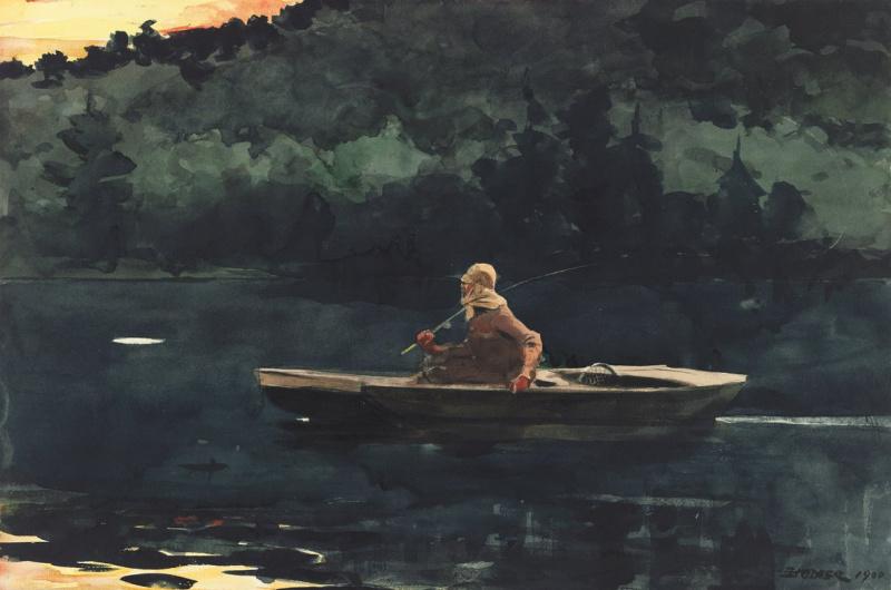 Winslow Homer. Sunrise