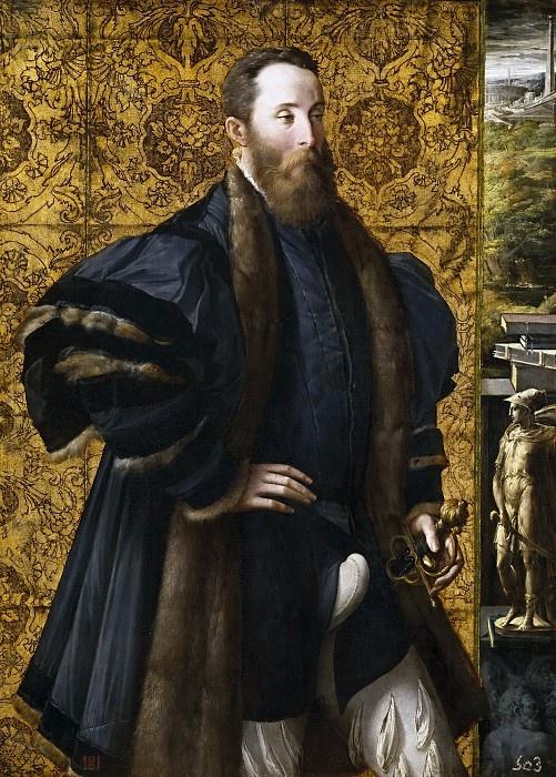 Франческо Пармиджанино. Пьетро Мария Росси, граф Сан Секондо