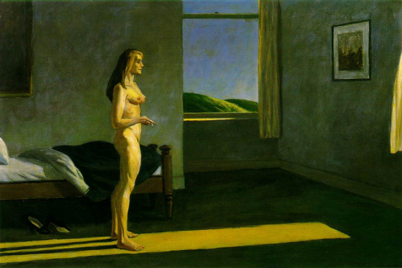 essay on edward hopper When he drew self-images, he presented himself as ungrateful and lonely 2 what/ who inspired the artist how did they become an artist (was it a family member or friend, another artist, a philosophy, etc.
