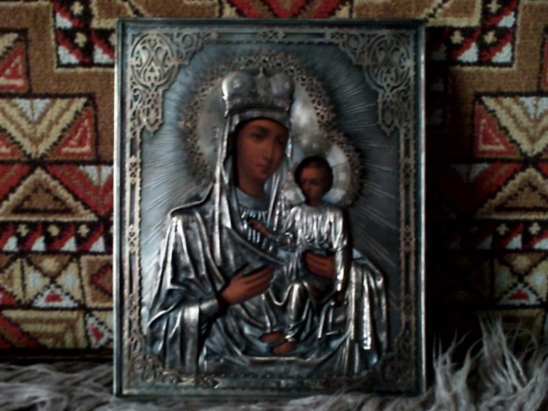 Икона Русская. Иверская Икона Божей Матери