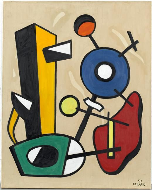Fernand Leger. Forms in space