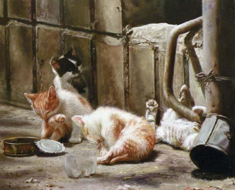 Светлана Бердник. Котята. Беззаботное детство