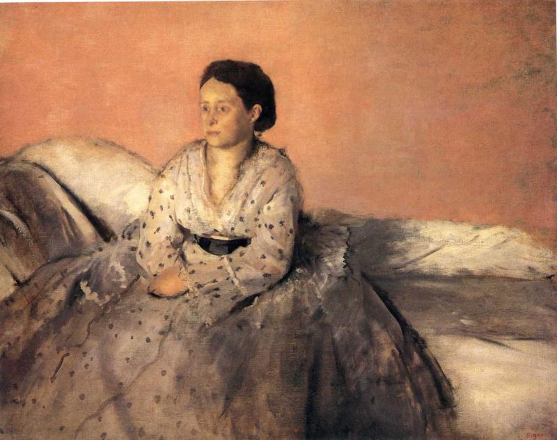 Edgar Degas. Madame Rene De GA