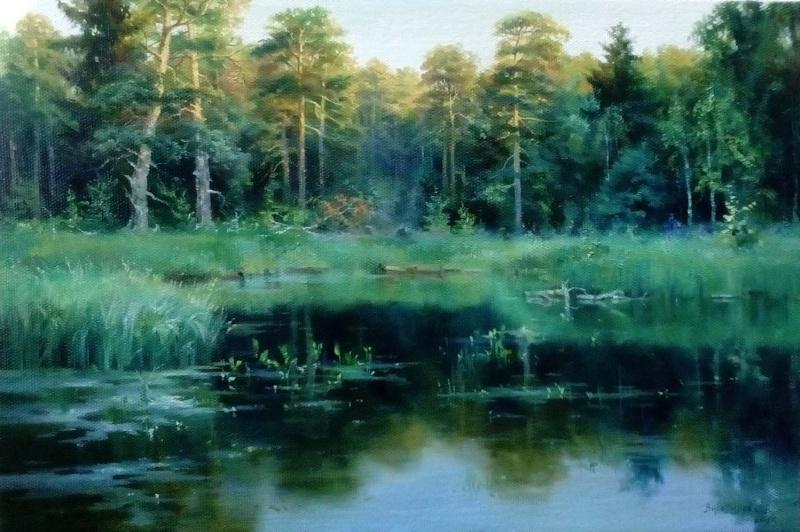 Sergey Vladimirovich Vorotilov. Mindovsky pond