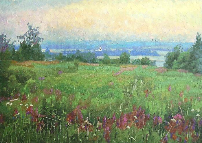 Michael Mine. Morning in Bogolyubovo