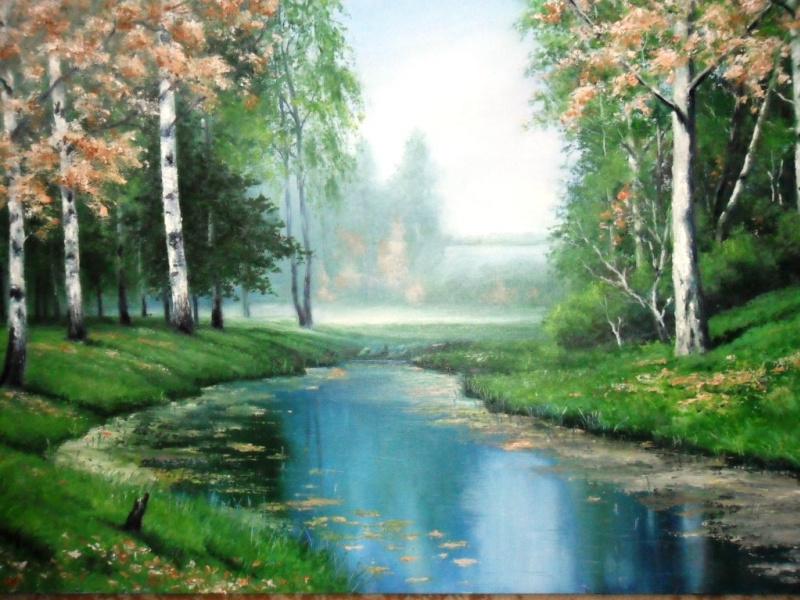 Serge. Река в лесу.