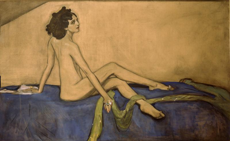 Valentin Aleksandrovich Serov. Portrait Of IDA Rubinstein