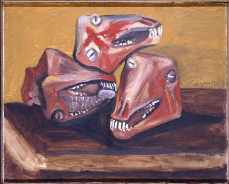 Пабло Пикассо. Три бараньи головы