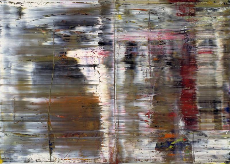 Герхард Рихтер. Abstract painting