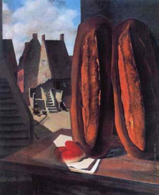 Василий Иванович Шухаев. Хлебы. Нормандия. 1923
