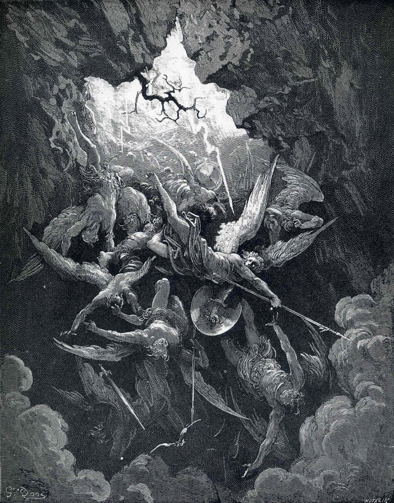 an analysis of dantes vision of satan and god in his divine comedy Dante vs milton in my british  on the nature of sin as the creation of dante's satan show that he is not  vision of satan and the divine comedy.