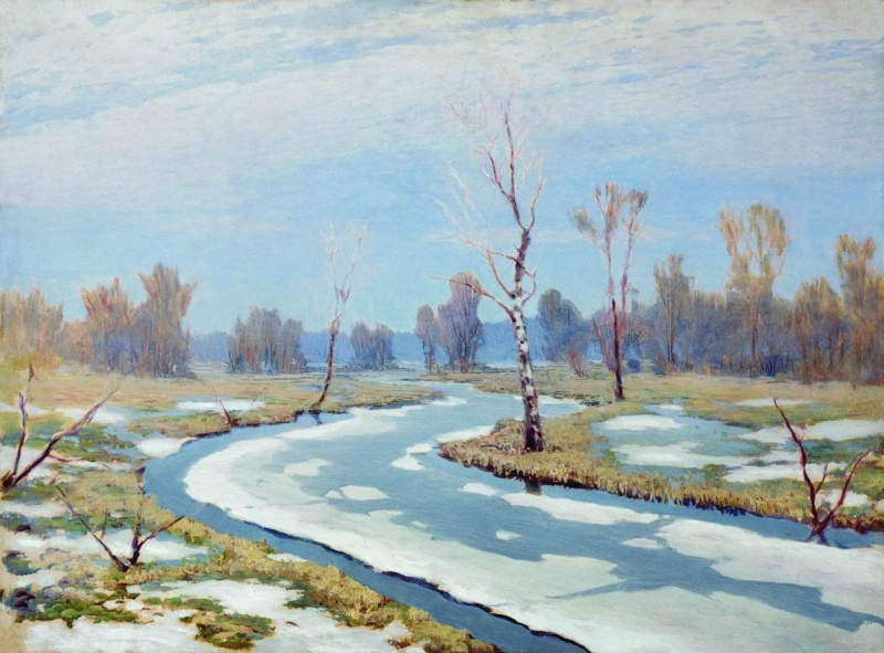 Архип Иванович Куинджи. Ранняя весна