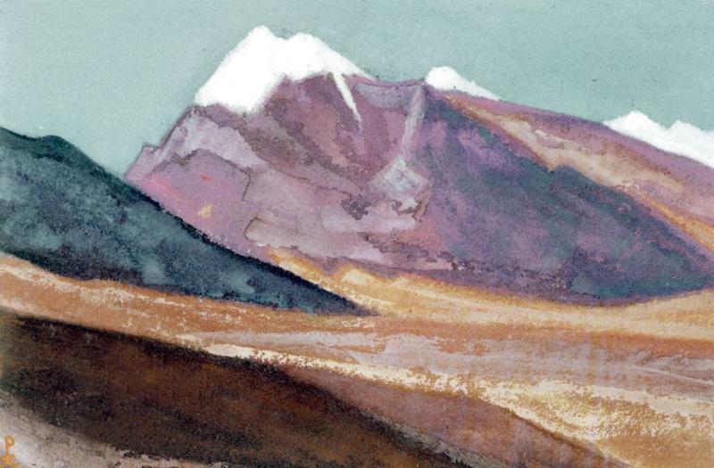 Nicholas Roerich. Ladakh (Rose hills)