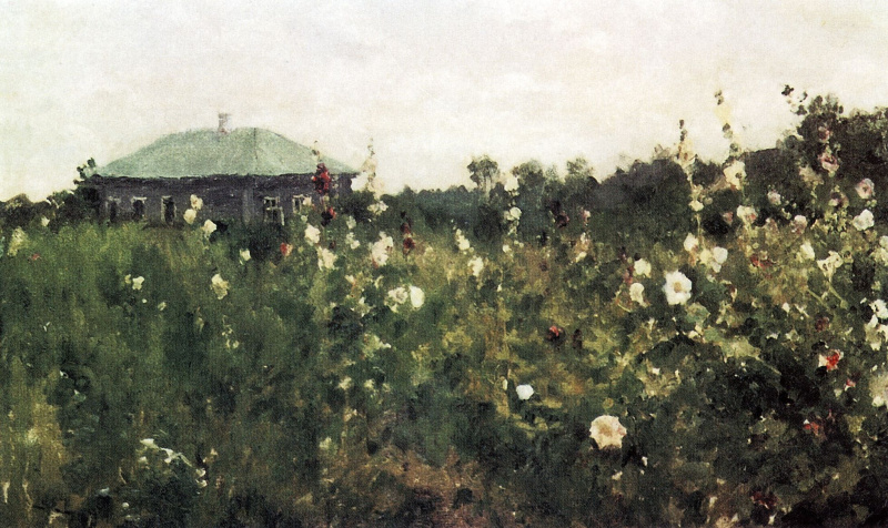 Konstantin Korovin. Mallow in the Saratov province