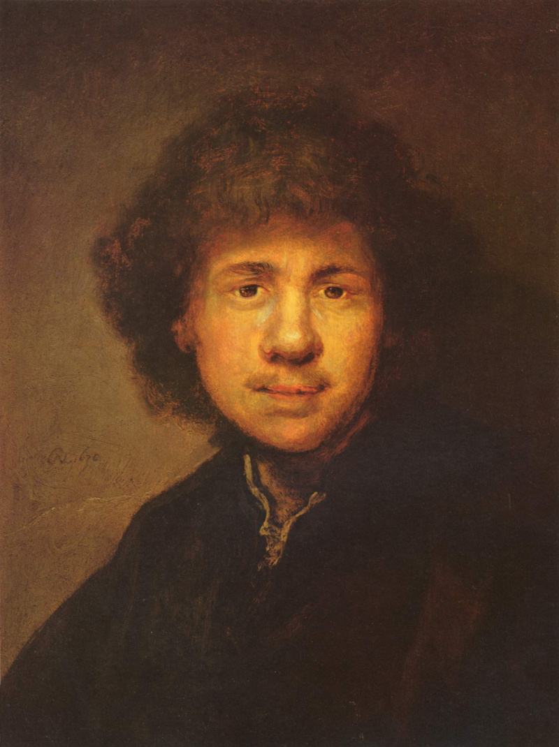 rembrandt harmensz van rijns self portraits The same stark, oblique illumination from behind can be found in other youthful works, such as the earliest self-portrait painted around 1628 (fig 2) here we also find the glowing pink ear here we also find the glowing pink ear.