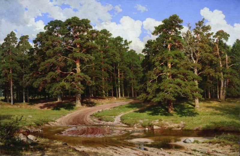 Ivan Ivanovich Shishkin. Pine forest