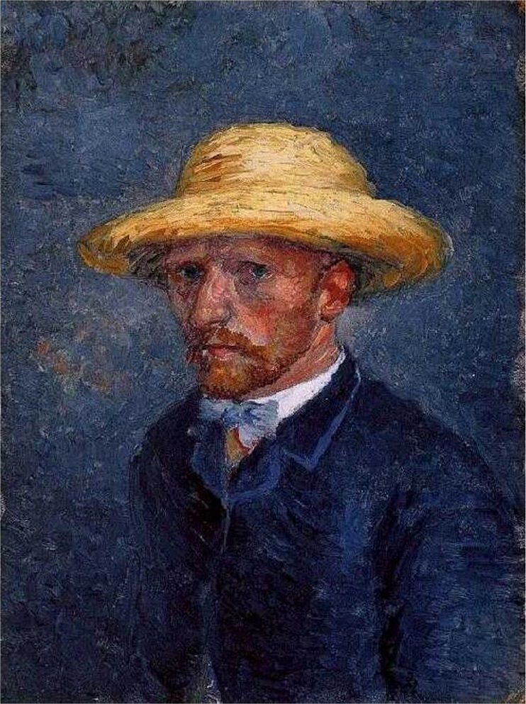 Винсент Ван Гог. Портрет Тео Ван Гога (или автопортрет Винсента Ван Гога?)
