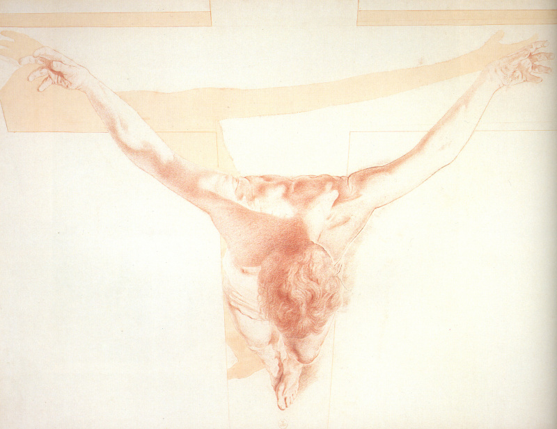 Salvador Dali. Christ