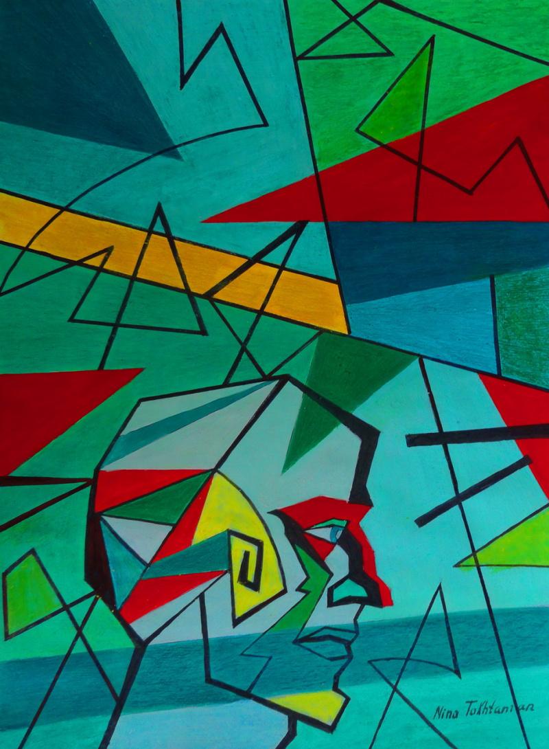 Nina Tokhtaman Valetova. Journey to Geometry
