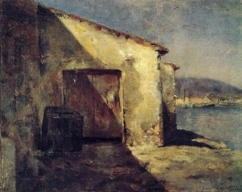 Пабло Пикассо. В порту Малаги