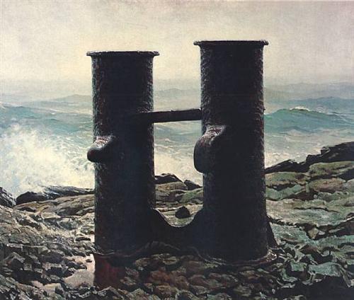 Джейми Уайет. Штормящее море